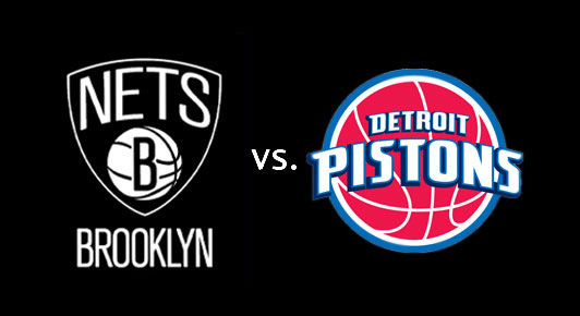 Detroit Pistons vs. Brooklyn Nets at Palace of Auburn Hills