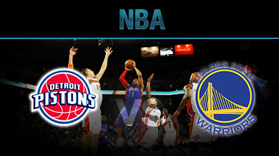 Detroit Pistons vs. Golden State Warriors at Palace of Auburn Hills
