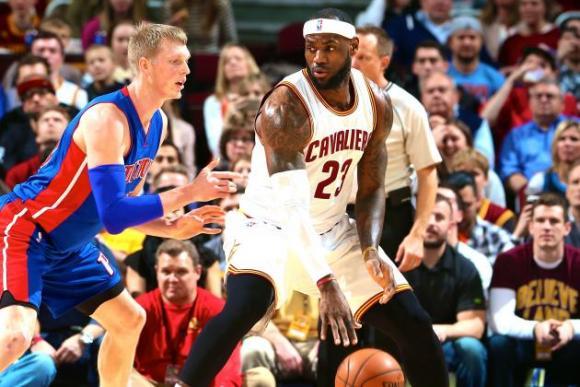 Detroit Pistons vs. Cleveland Cavaliers at Palace of Auburn Hills