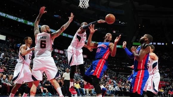 Detroit Pistons vs. Atlanta Hawks at Palace of Auburn Hills