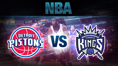 Detroit Pistons vs. Sacramento Kings at Palace of Auburn Hills
