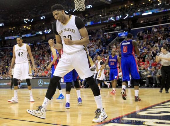 Detroit Pistons vs. New Orleans Pelicans at Palace of Auburn Hills