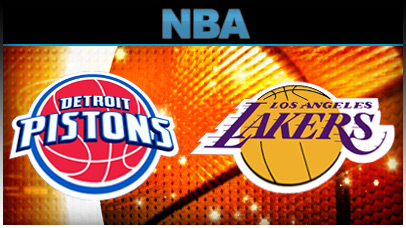 Detroit Pistons vs. Los Angeles Lakers at Palace of Auburn Hills