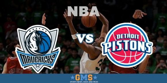 Detroit Pistons vs. Dallas Mavericks at Palace of Auburn Hills