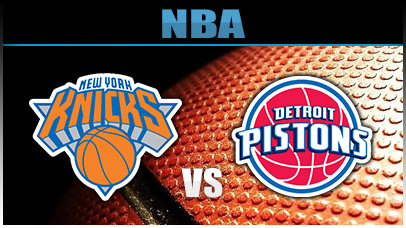 Detroit Pistons vs. New York Knicks at Palace of Auburn Hills