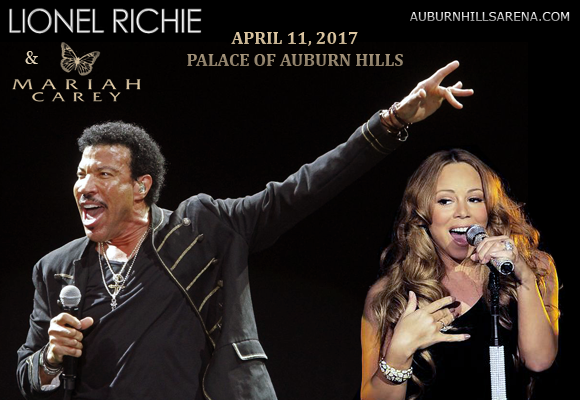 Lionel Richie & Mariah Carey at Palace of Auburn Hills