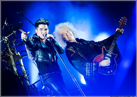 Queen & Adam Lambert at Palace of Auburn Hills