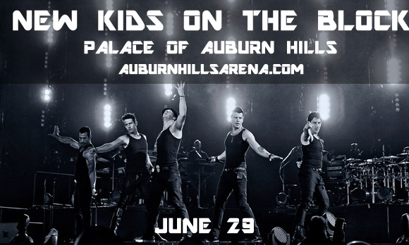 New Kids On The Block, Paula Abdul & Boyz II Men at Palace of Auburn Hills