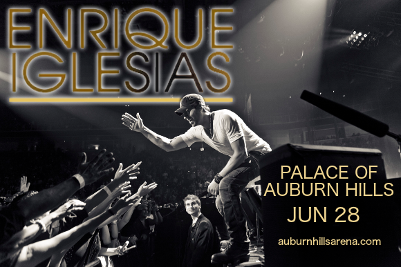 Enrique Iglesias, Pitbull & CNCO at Palace of Auburn Hills