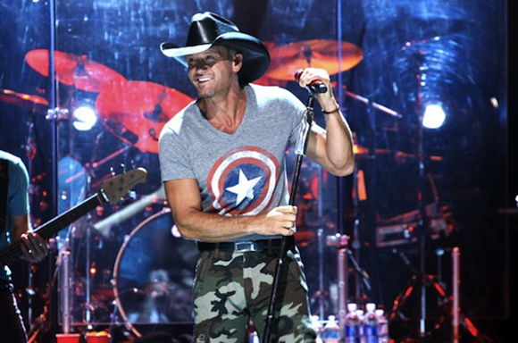 Tim McGraw & Faith Hill at Palace of Auburn Hills